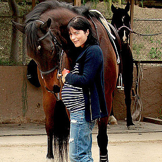 Pictures of Pregnant Selma Blair With Her Horse