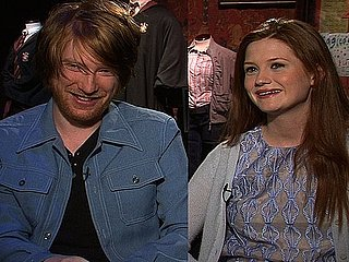 Harry Potter Interview With Bonnie Wright and Domhnall Gleeson