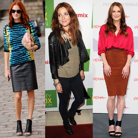 Drew Barrymore's Red Hair and the Best Clothing Colors For Redheads