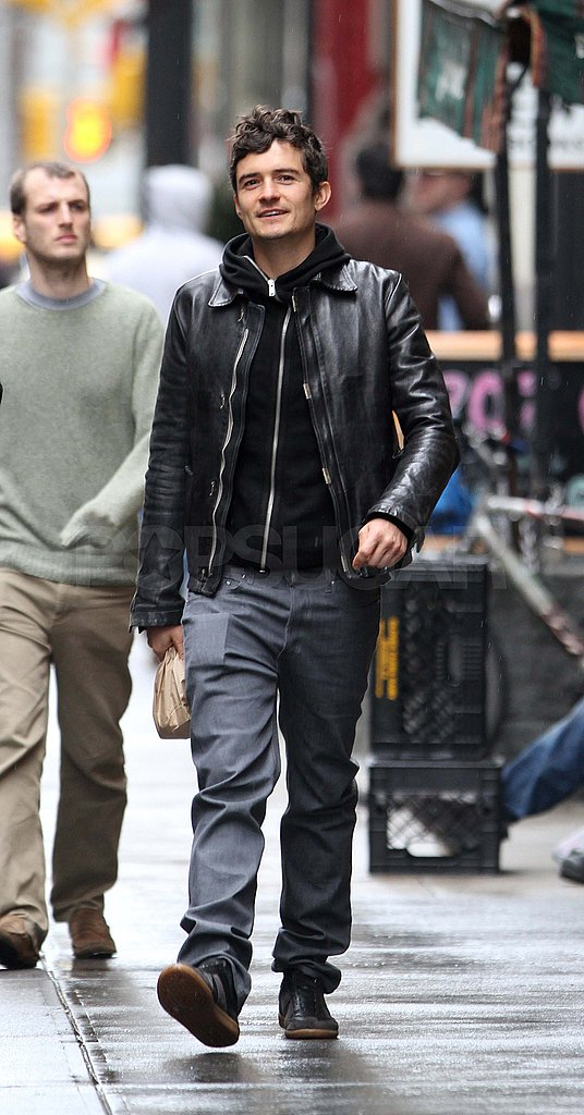 Orlando Bloom Explores NYC Ahead of His Tribeca Debut