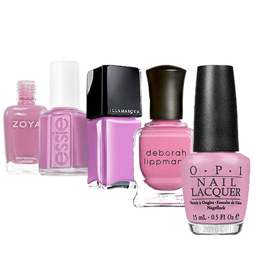 Pinky-Purple Nail Polishes to Ponder For Spring 2011-04-19 03:31:55