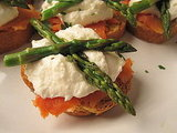 Asparagus Crostini Recipe 2011-03-09 14:50:15