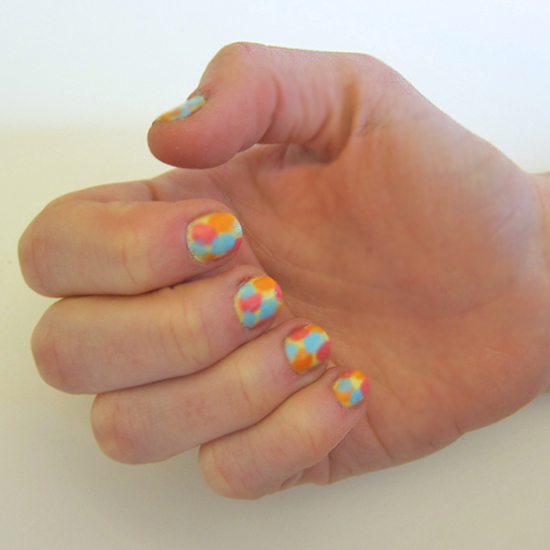 Easy Easter Nail Art: Easy Impressionist Easter Egg Nail Art Tutorial
