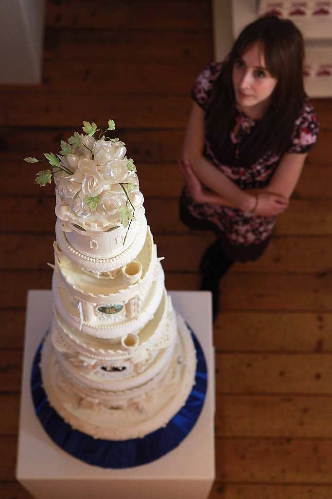 Traditional: A multilayered behemoth of a cake.