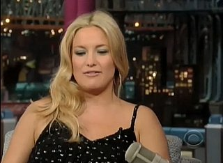 Video: Kate Hudson Talks About Baby on David Letterman