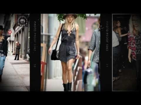 Street Style Report: Jessica Hart - Giglio.com