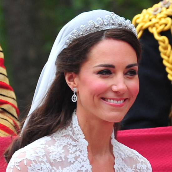 Kate Middleton's Wedding Makeup Pictures