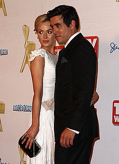 Pictures of Celebrity Couples on the 2011 Logie Awards Red Carpet