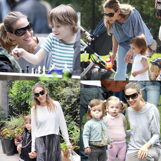 Sarah Jessica Parker on Mother's Day Weekend in NYC