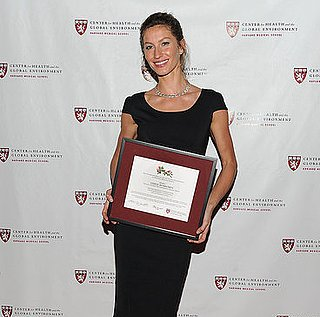 Pictures of Gisele Bundchen at Global Environment Awards