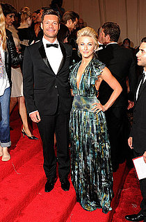 Ryan Seacrest and Julianne Hough 2011 Met Gala Pictures
