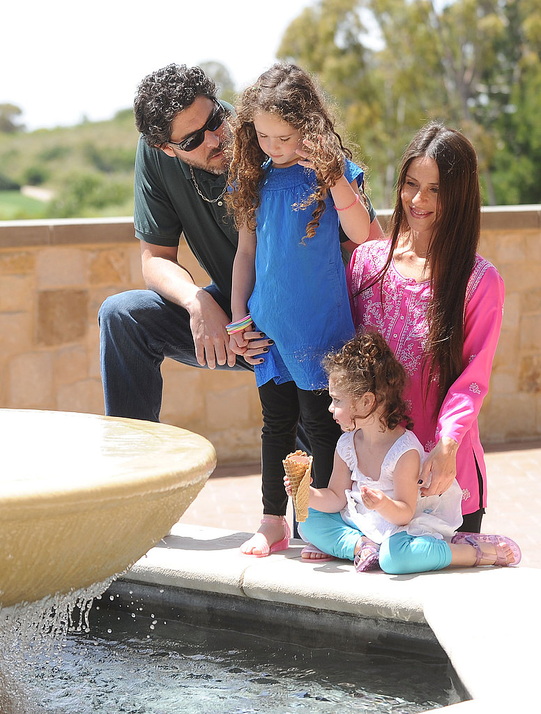 """Soleil Moon Frye says you know you're a mother when...  """"You walk out of the house with your sweater on inside out and spit-up in your hair."""""""