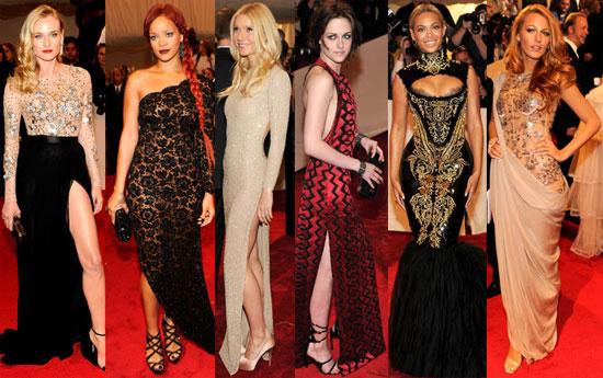 Sexy Ladies at Met Gala