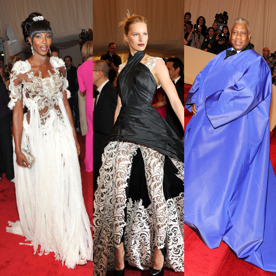 Pictures of Outrageous Fashion at the 2011 Met Costume Institute Gala