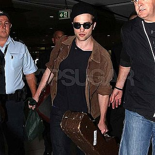Pictures of Robert Pattinson With Guitar