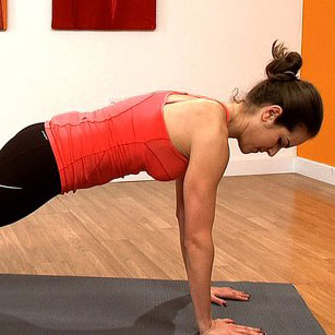 Core Exercise: Up-Down Plank Variation