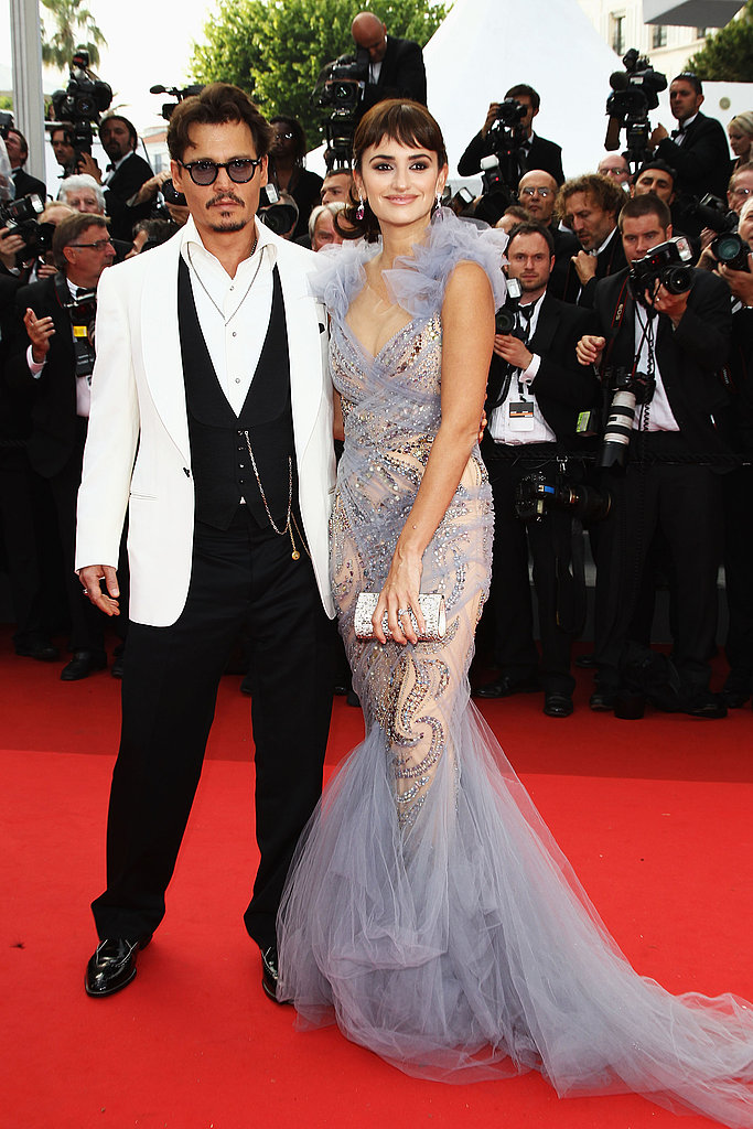Penelope Cruz and Johny Depp