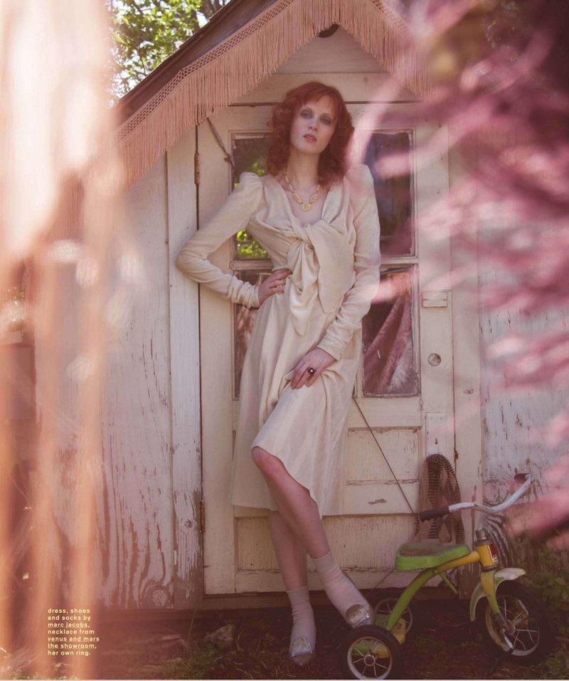 Fashion Styling By Karen Drummond: Karen Elson's Vintage Style