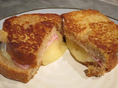 Brie Croque Monsieur Sandwiches