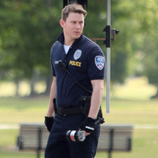 Pictures of Channing Tatum Filming 21 Jump Street 2011-05-11 01:22:00