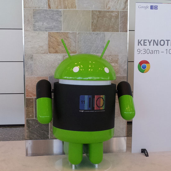 Pictures of Google I/O 2011