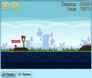 Angry Birds Flocks to Chrome