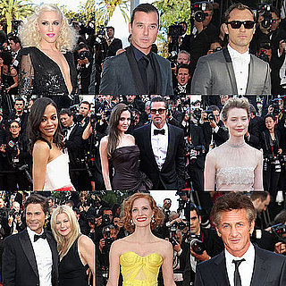 Brad Pitt and Angelina Jolie Pictures at The Tree of Life Screening at Cannes
