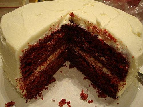 Vegan & Gluten-Free Red Velvet Cake