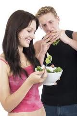 Why doesn't my husband gain weight if he eats junk food all day?