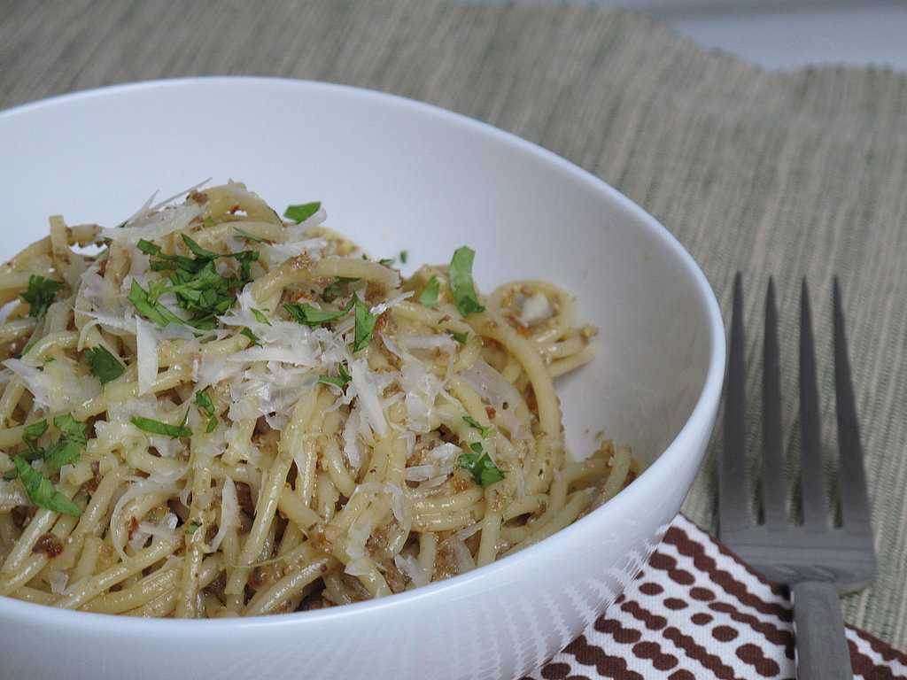 Photo Gallery: Pasta With Morel Shallot Pesto