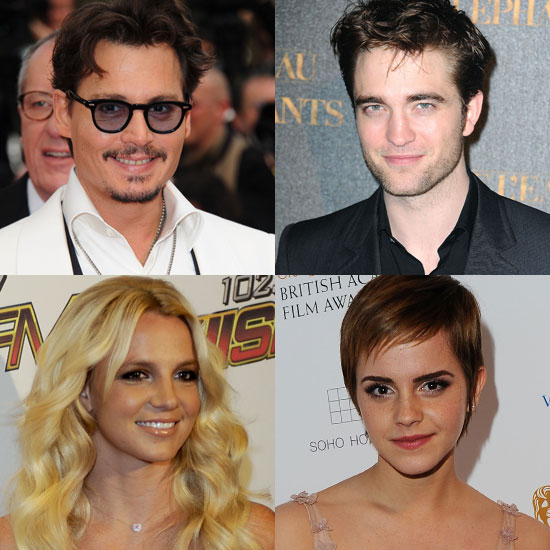 Johnny vs. Robert, Britney vs. Emma, and More Hot PopSugar 100 Battles!