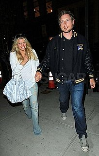 Pictures of Jessica Simpson and Eric Johnson in New York
