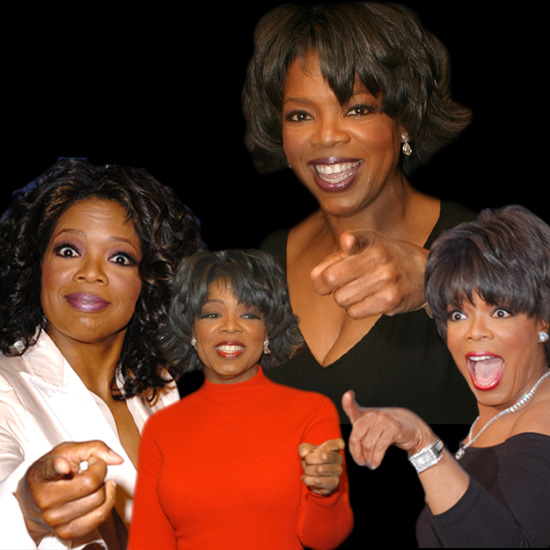 Pictures of Oprah Winfrey Over the Years to Celebrate the End of Her Show