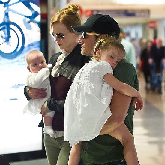 Pictures of Nicole Kidman and Keith Urban With Sunday and Faith 2011-05-24 17:17:42