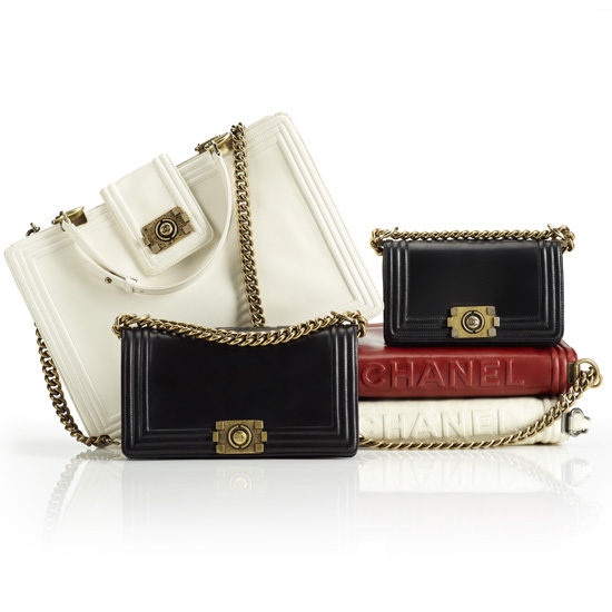 Photos and Details on New Chanel Boy Bag Collection