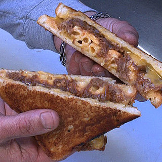 Mac and Cheese and Ribs Grilled Cheese Sandwich Recipe