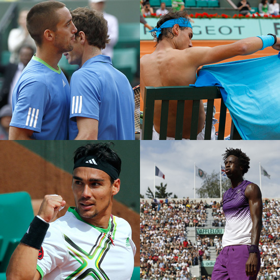 Pictures of Hot Tennis Players From the French Open Like Rafael Nadal, Roger Federer and More