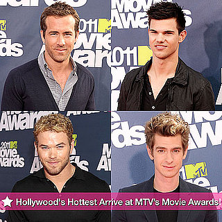 Ryan Reynolds, Taylor Lautner, Patrick Dempsey at MTV Movie Awards Pictures