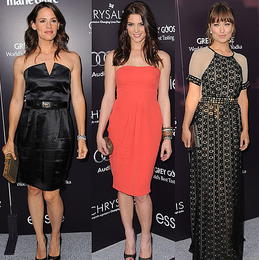Jennifer Garner, Ryan Phillippe, Olivia Wilde, Ashley Green Pictures at Chrysalis Butterfly Ball