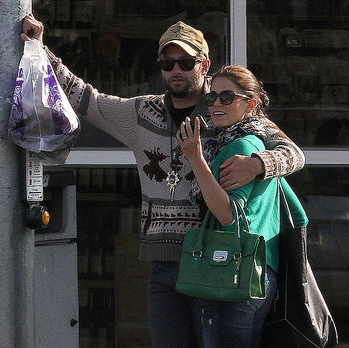Nikki Reed and Paul McDonald Hugging Pictures