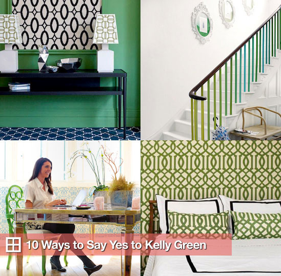 Sugar Shout Out: Kelly Green Color Schemes