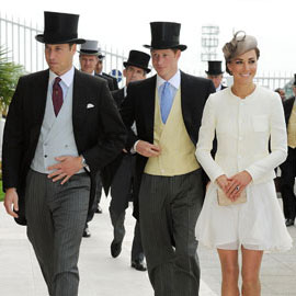 Kate Middleton and Prince William at Epsom Derby Pictures 2011-06-04 17:06:27