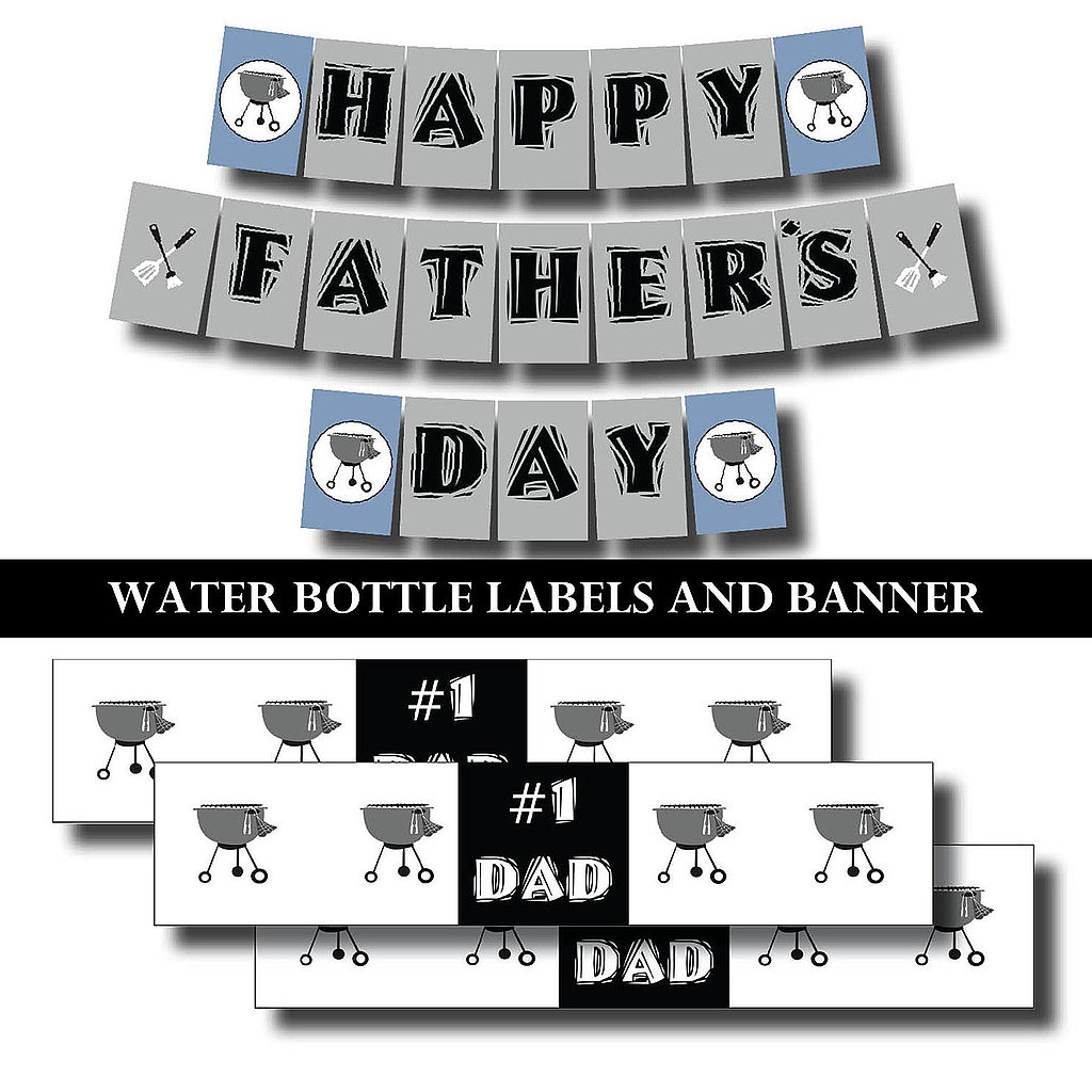 Father's Day Barbecue Printables