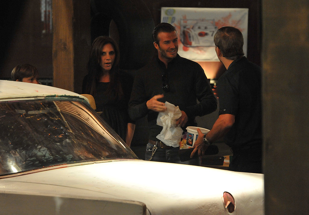 David and Victoria Beckham Rev Up Their Weekend at the Movies With Their Boys