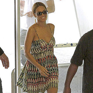 Pictures of Beyoncé Knowles in Nice