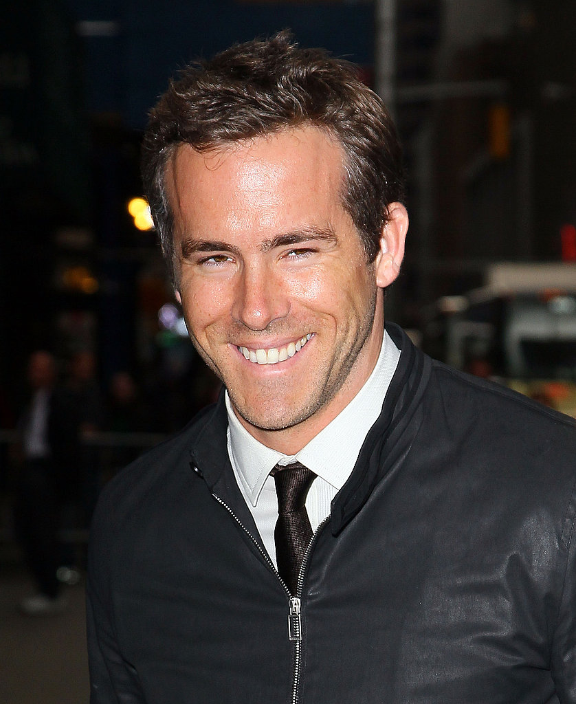 Ryan Reynolds Brings Some Sexy, Superhero Swagger to The Late Show