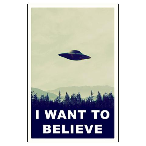 Weve Been Providing Official GearTrivia Ever Wonder Why Mulders X Files Well If You Are Looking For The Original I Want To Believe Poster