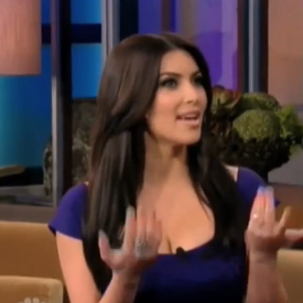 Video of Kim Kardashian Talking About Kris Humphries Wedding Proposal on Jay Leno
