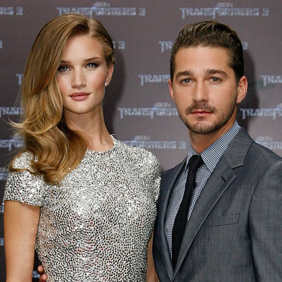 Shia LaBeouf and Rosie Huntington-Whiteley Pictures at Transformers: Dark of the Moon Premiere 2011-06-27 02:12:00