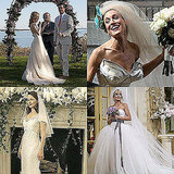 Famous Movie Brides Dresses Including Elizabeth Taylor, Angelina Jolie, Kate Hudson and Sarah Jessica Parker